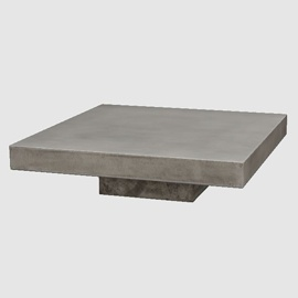 Concrete Coffee Table 3d model free download