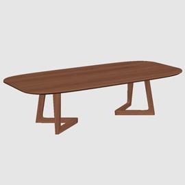 Copenhagen Coffee Table 3D Model