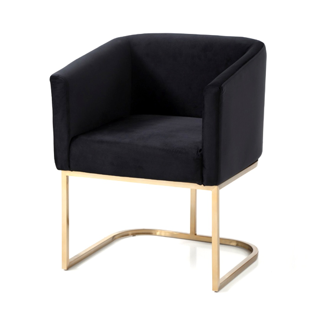 Uno Dining Chair Black Event Trade Show Furniture Rental Formdecor
