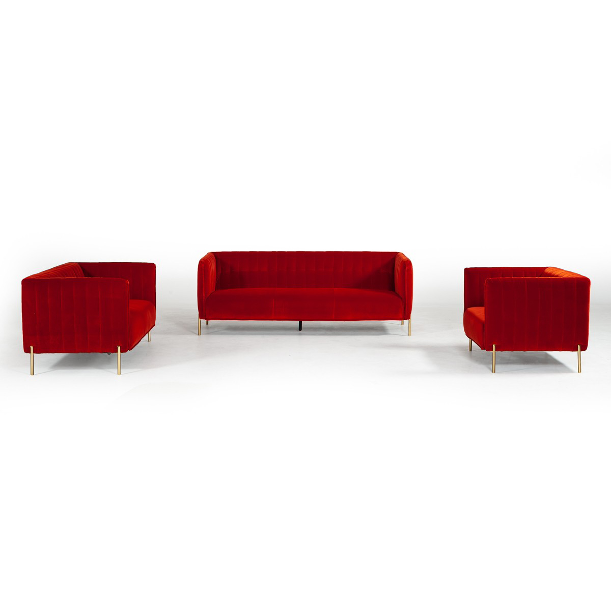 Superb Kara Sofa Set Red Event Trade Show Furniture Rental Gmtry Best Dining Table And Chair Ideas Images Gmtryco