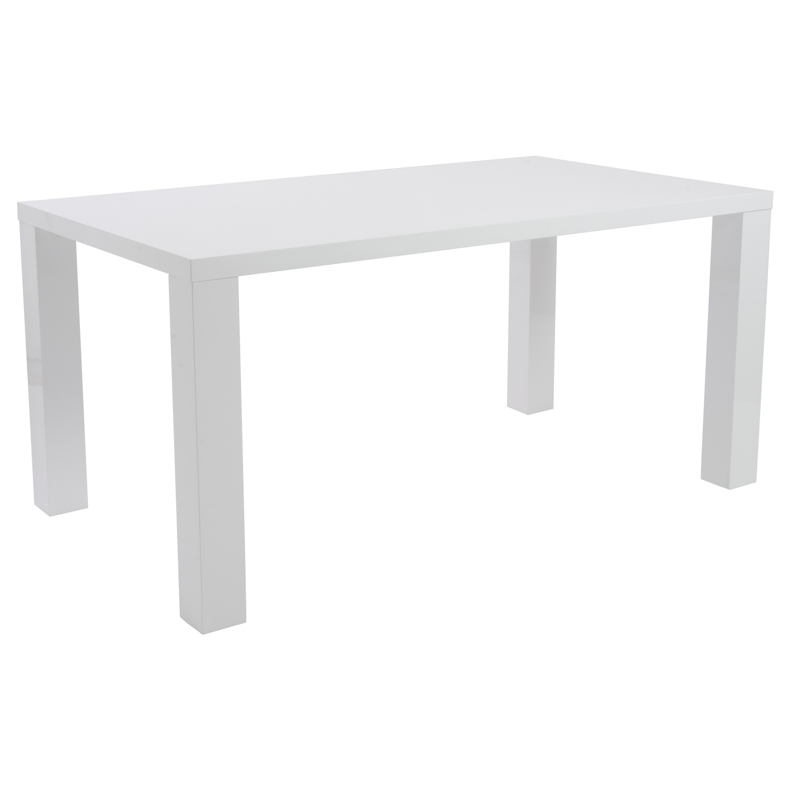 Parsons Dining Table Rectangle Event Trade Show Furniture Rental Formdecor