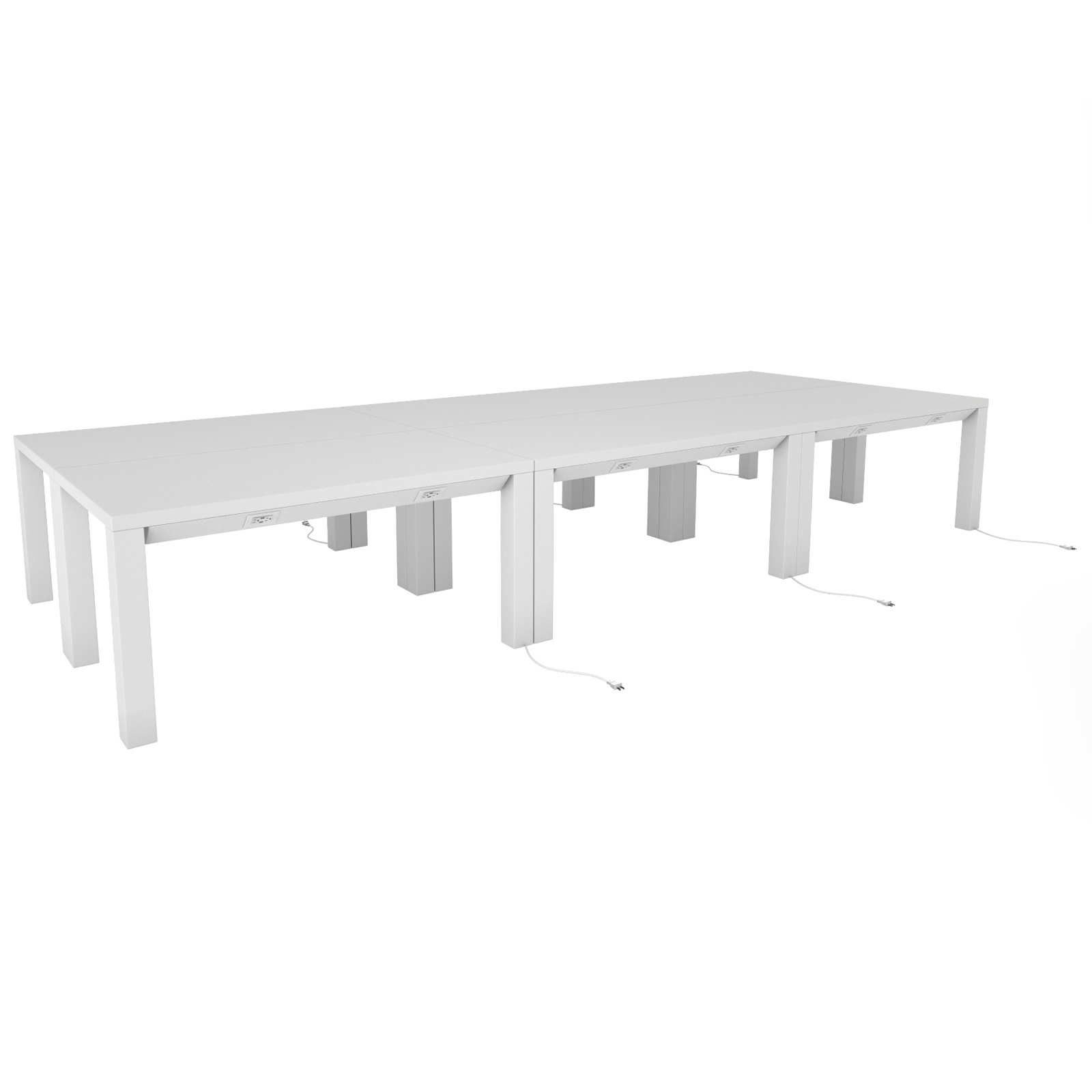 Parsons Conference Charging Table Event Trade Show